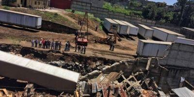 """La técnica constructiva del muro es muy mala"" dice arquitecto de Conred"