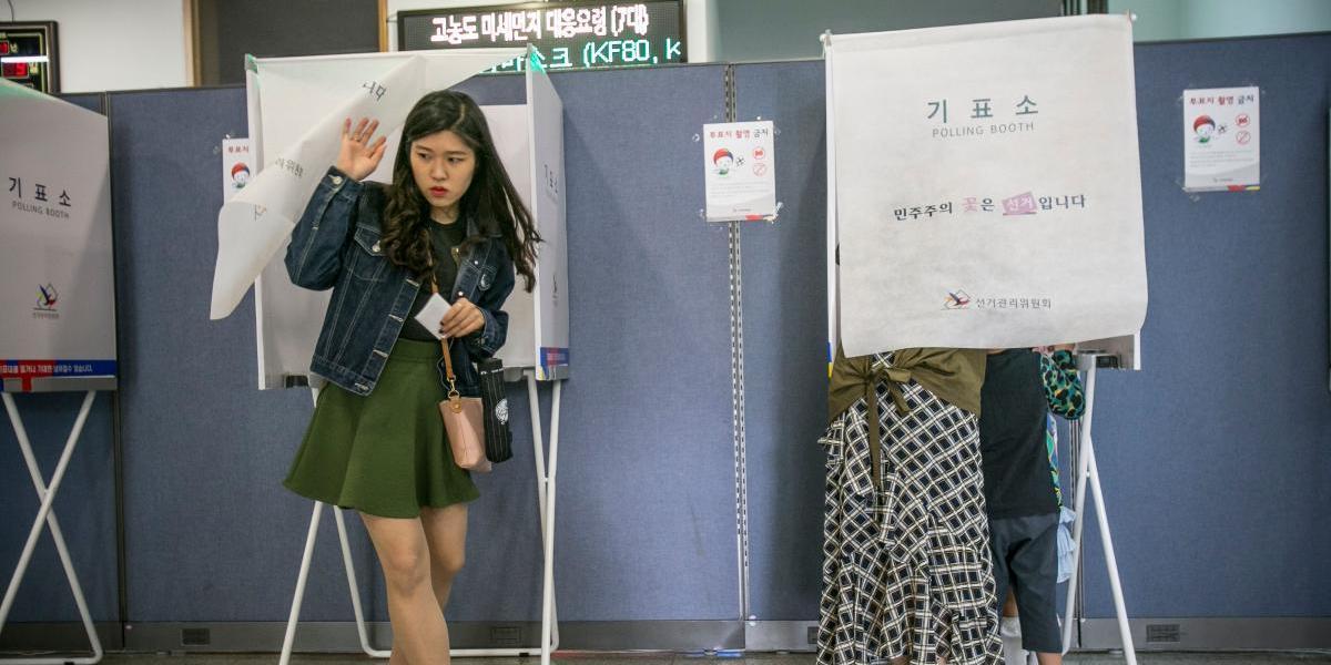 Moon Jae-in gana las elecciones en Corea del Sur, según sondeos