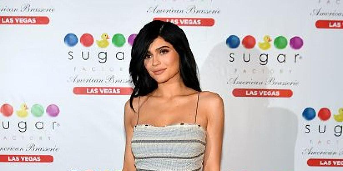 Kylie Jenner es captada usando unos leggings semi-transparentes