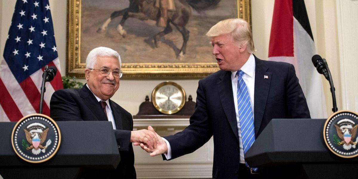 Mahmud Abás se declara dispuesto a reunirse con Netanyahu bajo los auspicios de Trump