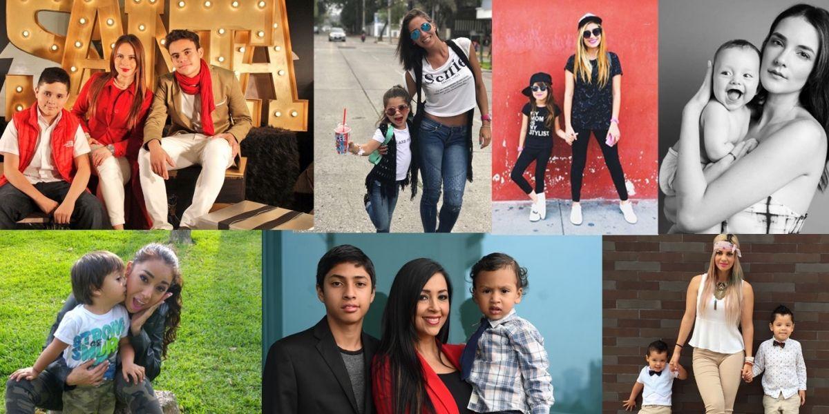 7 mamás guatemaltecas famosas celebran el Día de la madre