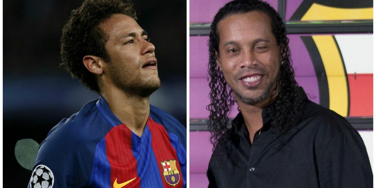 Lanzan dura comparación deNeymar con Ronaldinho