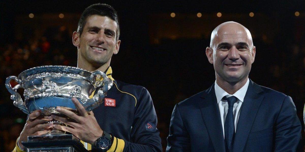 ¿Andre Agassi, el súper coach que busca Novak Djokovic?