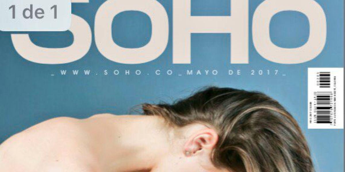 La polémica portada de la revista Soho en su publicación de mayo