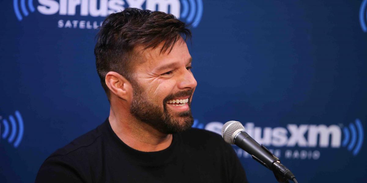 Ricky Martin estrena look para interpretar al amante de Versace