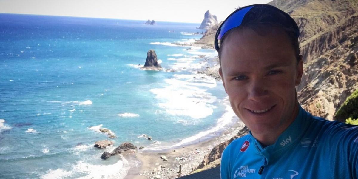 Ciclista Chris Froome fue atropellado mientras entrenaba