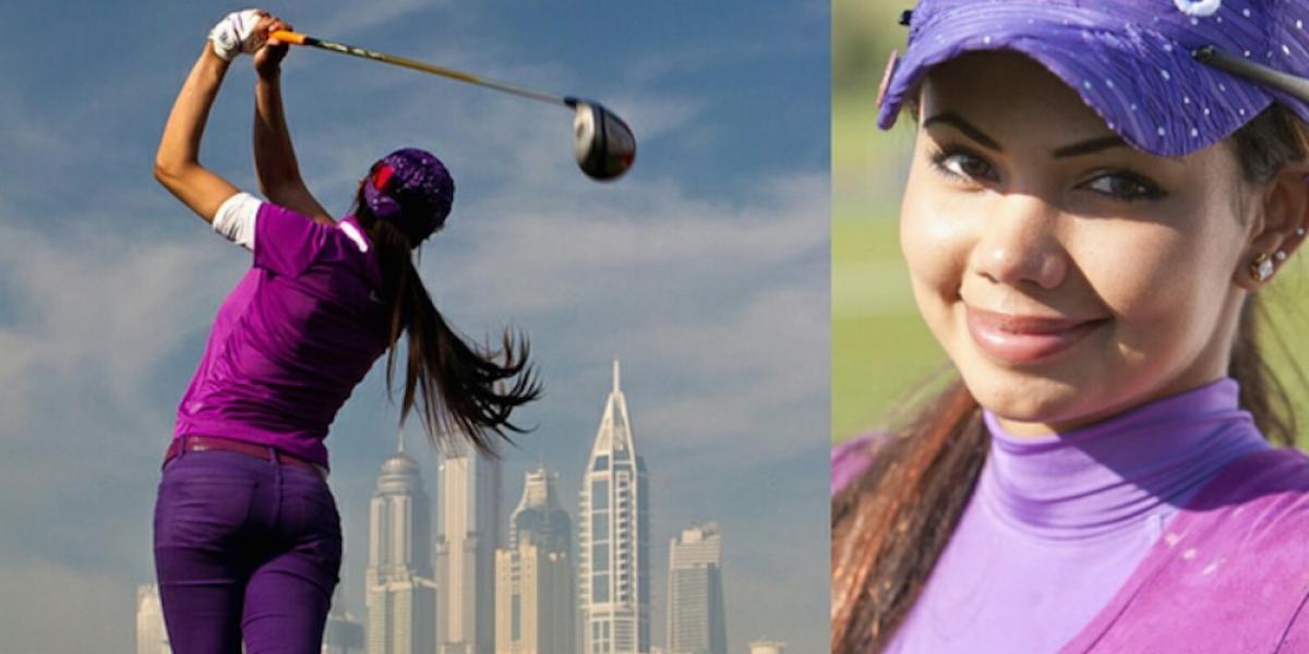 FOTOS: Sexy golfista Sharmila Nicollet arrasa en votación para participar en torneo LPGA
