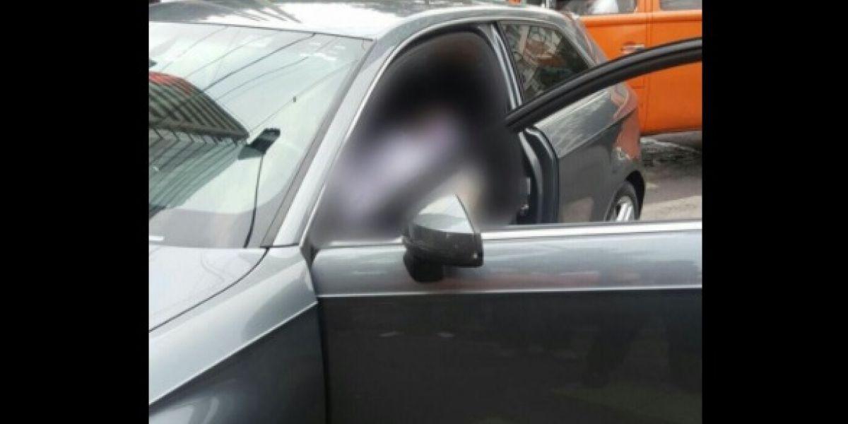 VIDEO: Asesinan a balazos a conductor en Mariano Escobedo