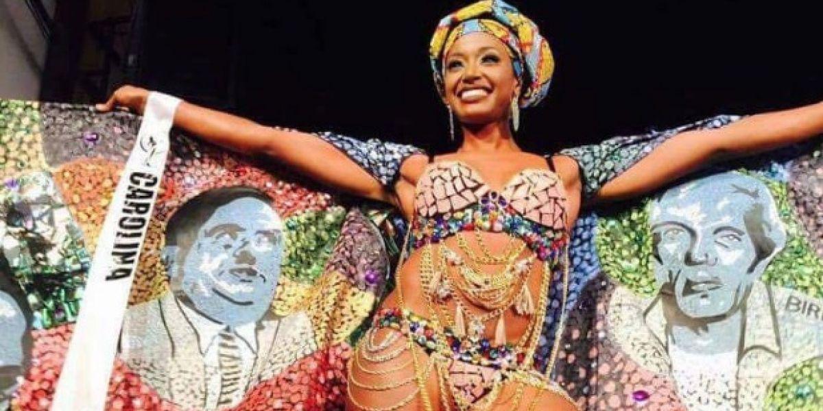 Miss Carolina: negra; ni exótica ni folclórica