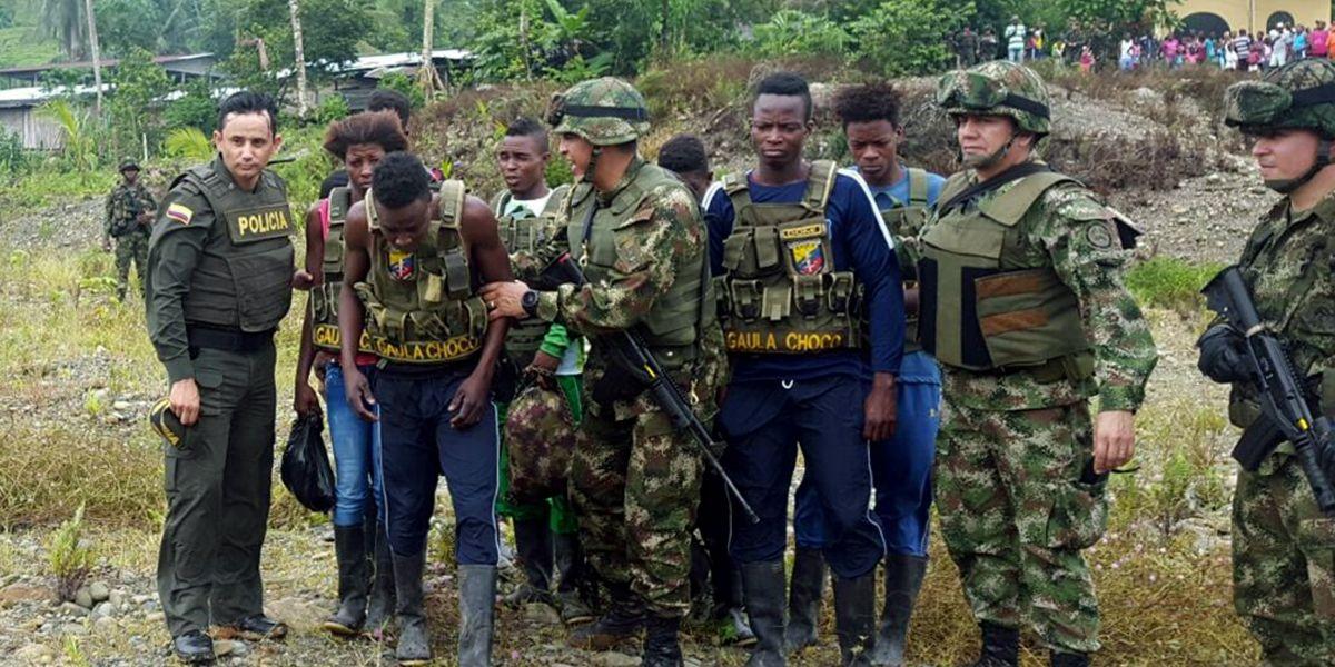 Liberaron a las ocho personas que habría secuestrado el Eln en Chocó