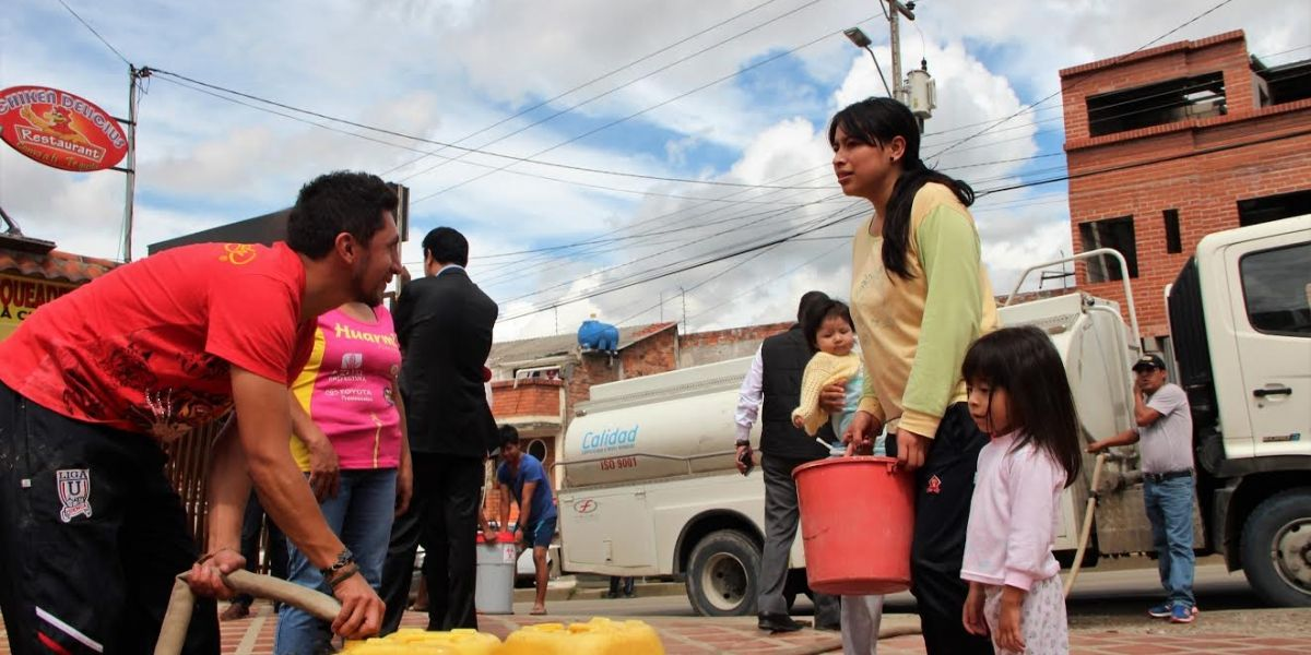 Zona norte de Cuenca sin agua   Metro Ecuador