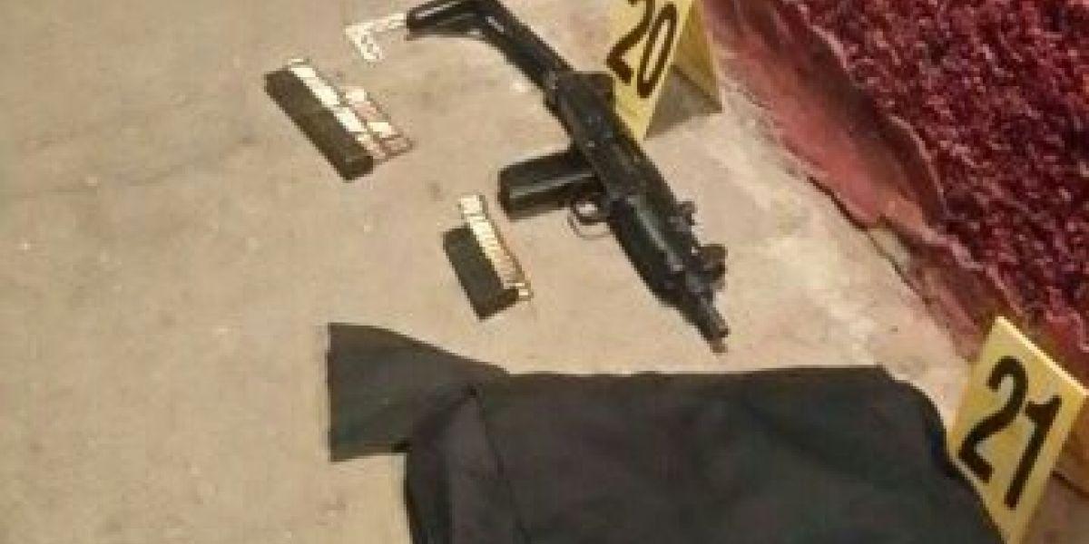 Abandonan vehículo con armas supuestamente utilizadas en ataque en Villa Nueva