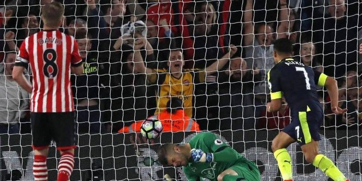 Los dejó sentados: Alexis marcó un golazo para llegar a los 20 tantos en la Premier