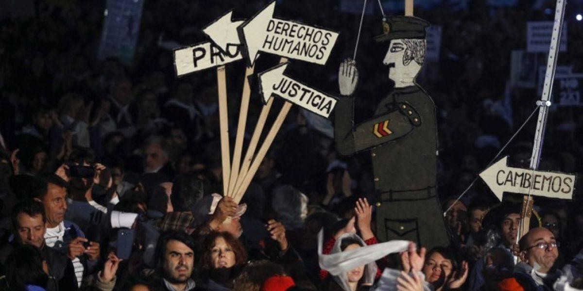 Miles de argentinos claman contra ley que beneficia a represores de la dictadura
