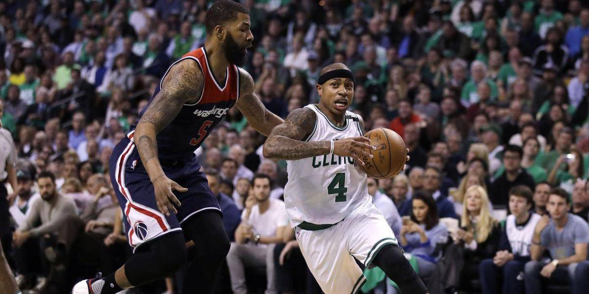 Celtics dominan a Wizards en el quinto juego