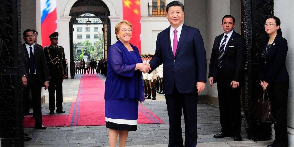 China ve en visitas de Bachelet y Macri oportunidad para impulsar relaciones