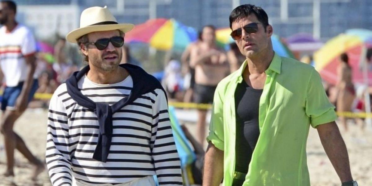 """Estas son las primeras imágenes de Ricky Martin en """"American Crime Story"""""""