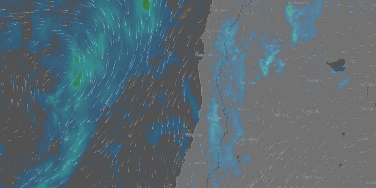 Sigue en vivo cómo se acerca el sistema frontal que afectará a la zona centro norte del país
