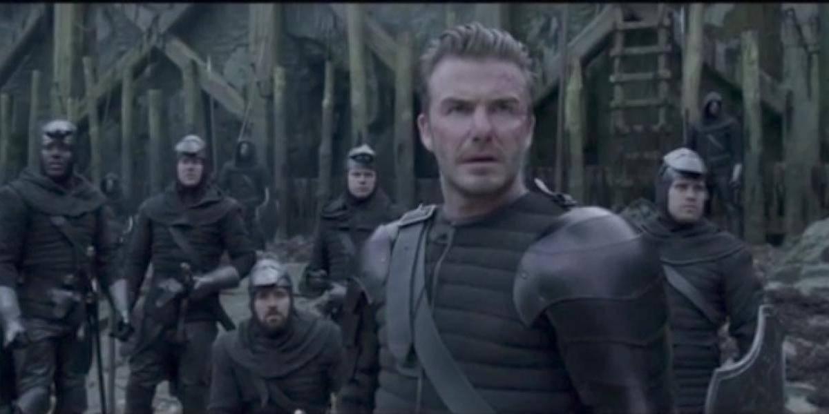 VIDEO: David Beckham debuta en el cine, pero no convence ¡lo suyo es el deporte!