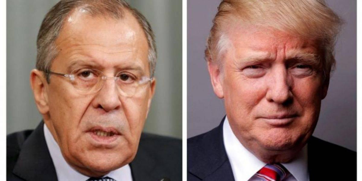 Trump recibe hoy al ministro ruso de Exteriores tras echar al director del FBI