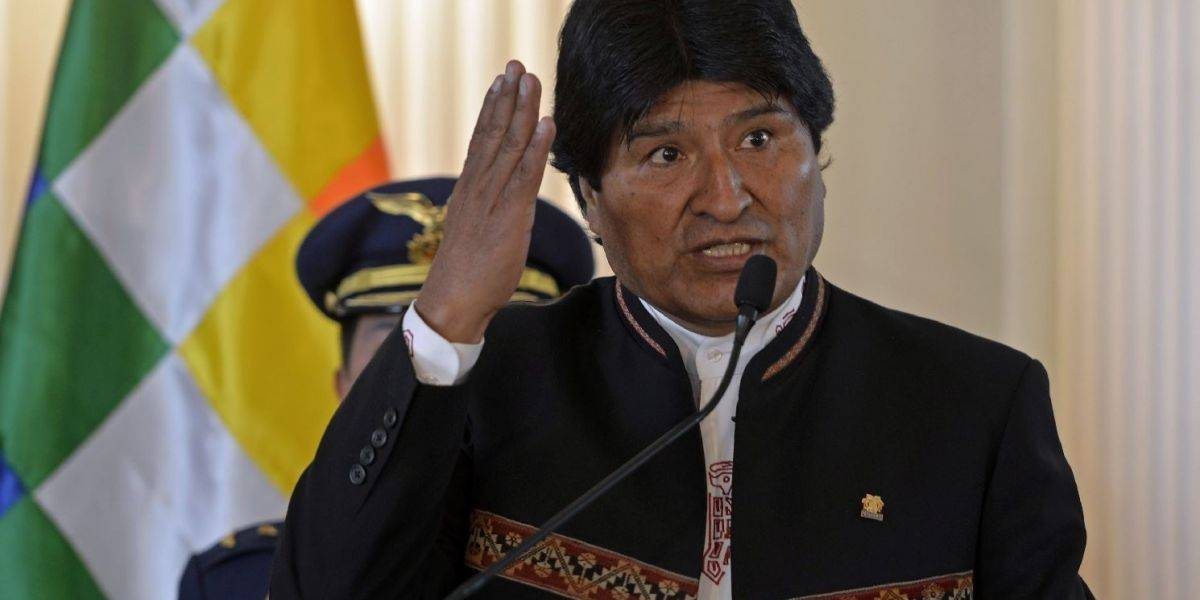 """Evo Morales fustiga a la """"oligarquía chilena"""" por sus """"intereses mezquinos"""" con el mar"""
