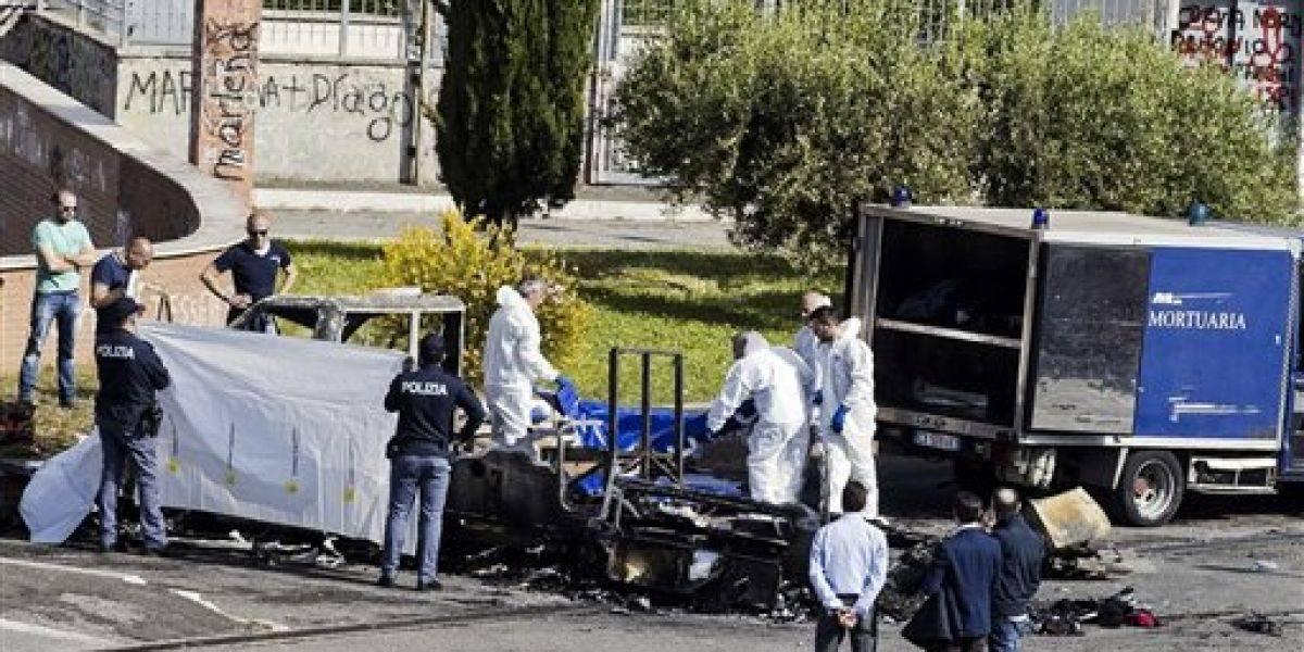 Fallecen tres hermanas gitanas en Roma