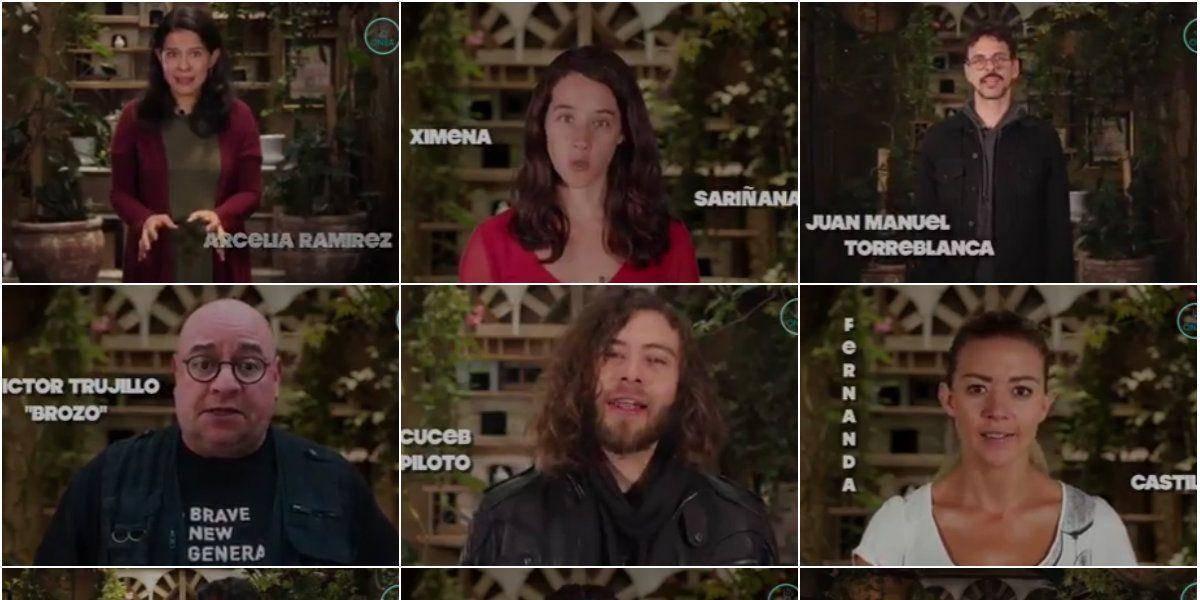 VIDEO: Famosos se unen contra el PRI en el Edomex