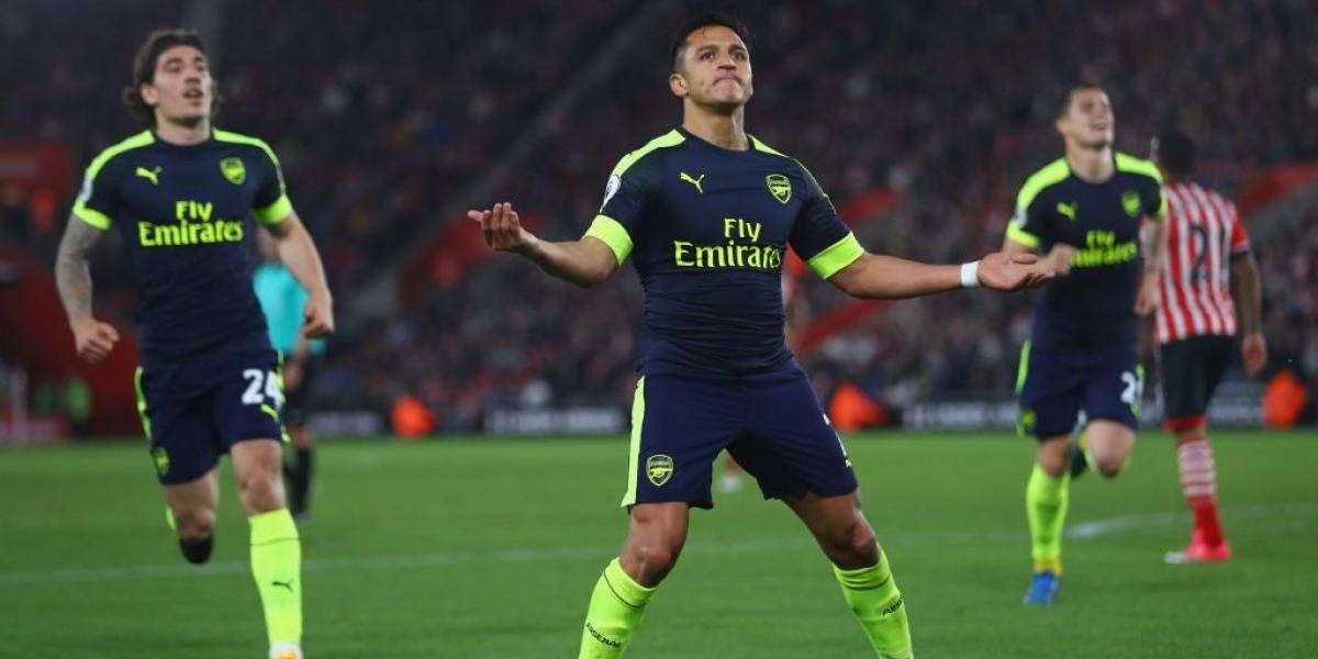 Alexis lidera con un golazo el nuevo triunfo del Arsenal que sigue soñando con la Champions
