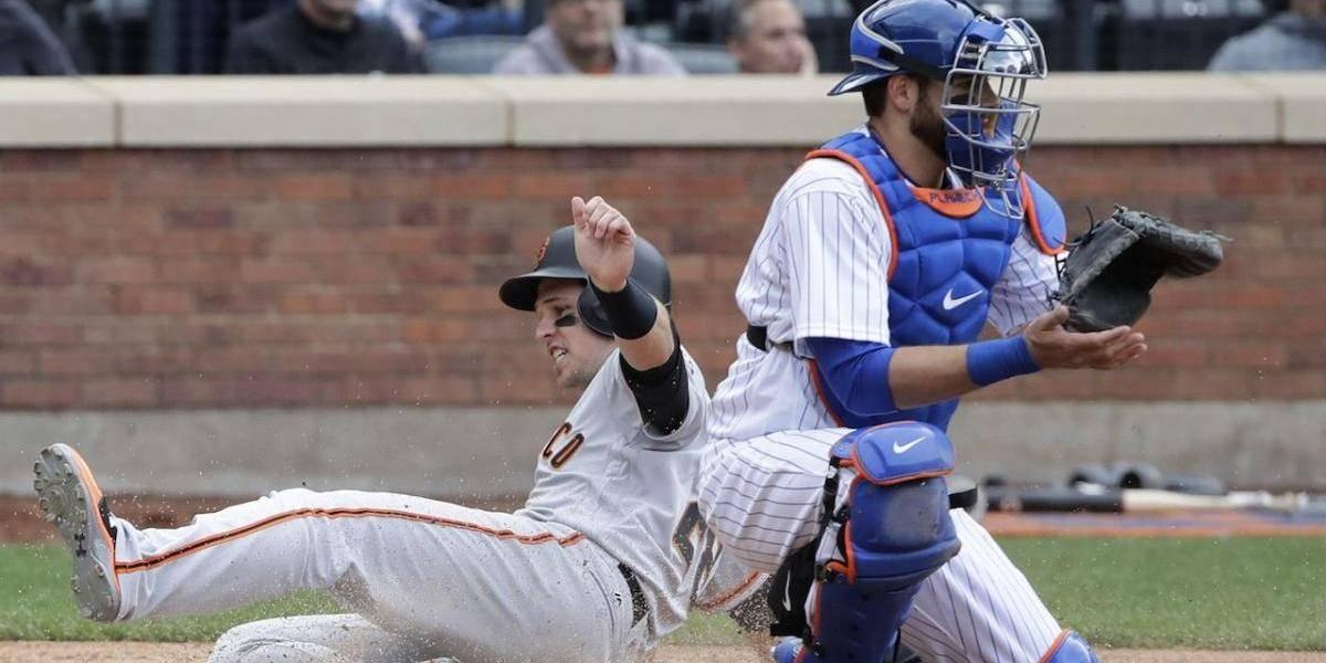 Gigantes remontan contra Familia y vencen a los Mets