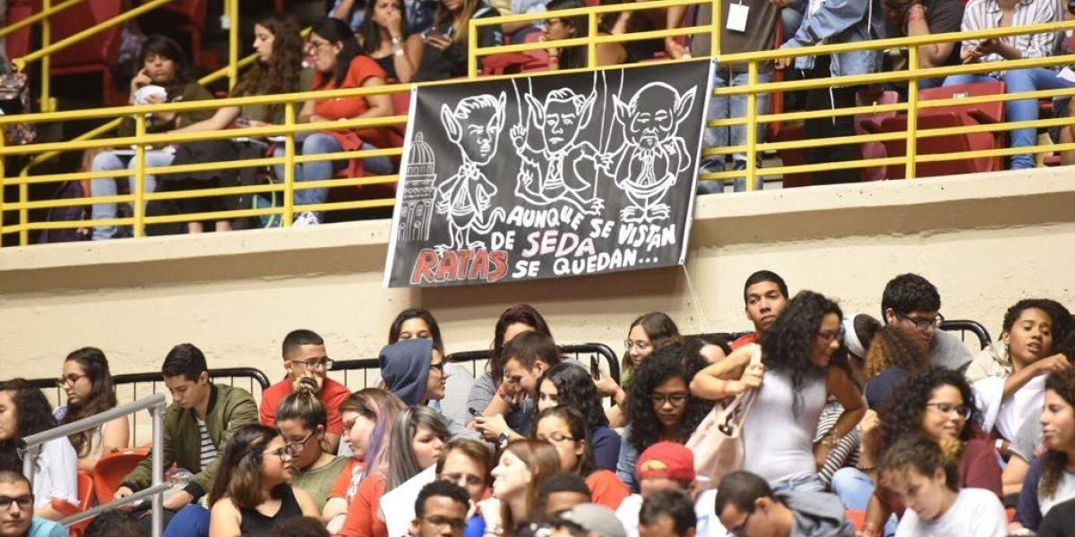 UPR Río Piedras ratifica voto de huelga