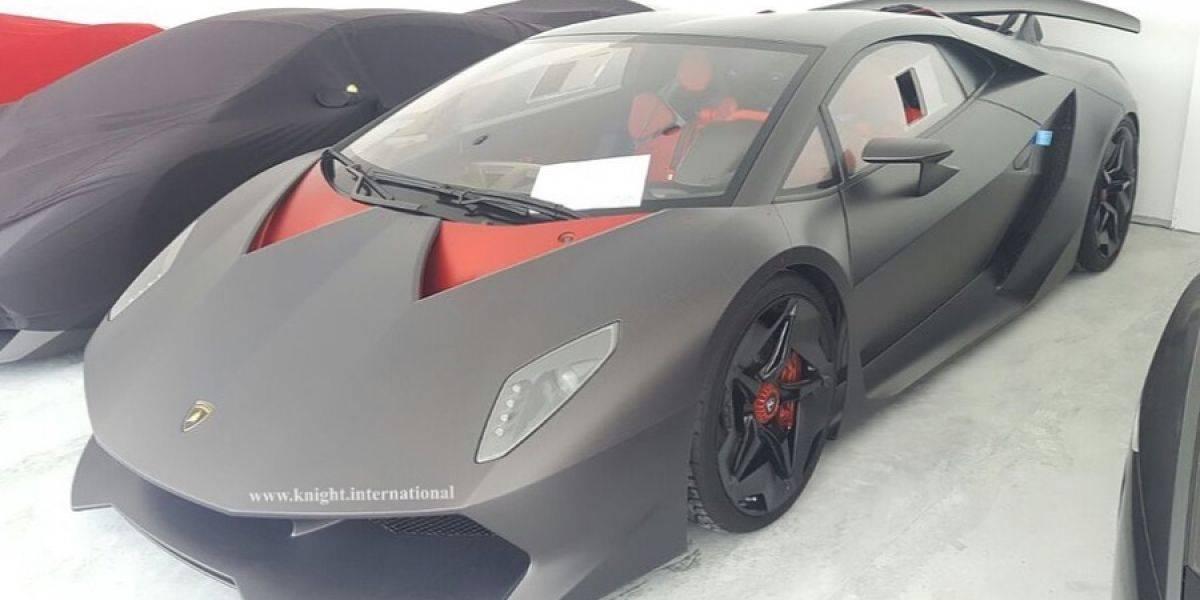 Rematan el único Lamborghini Sesto Elemento para calle del mundo