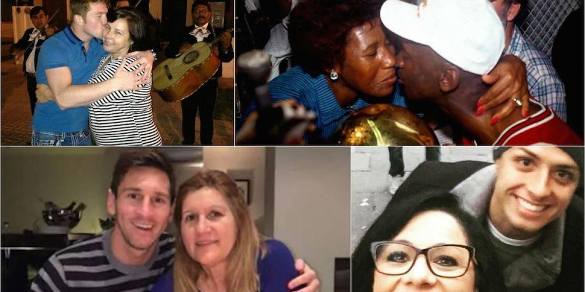FOTOS: Conoce a las madres de los más famosos deportistas