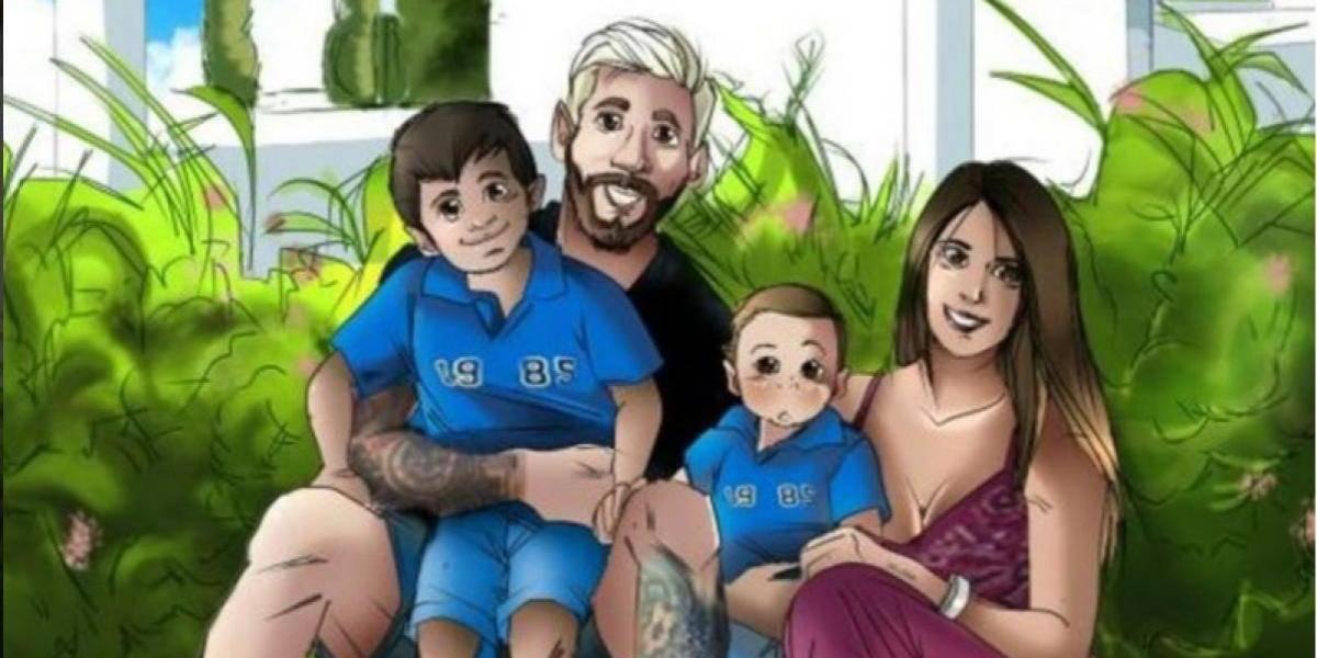 Antonella Roccuzzo, pareja de Messi, conmueve con su regalo especial