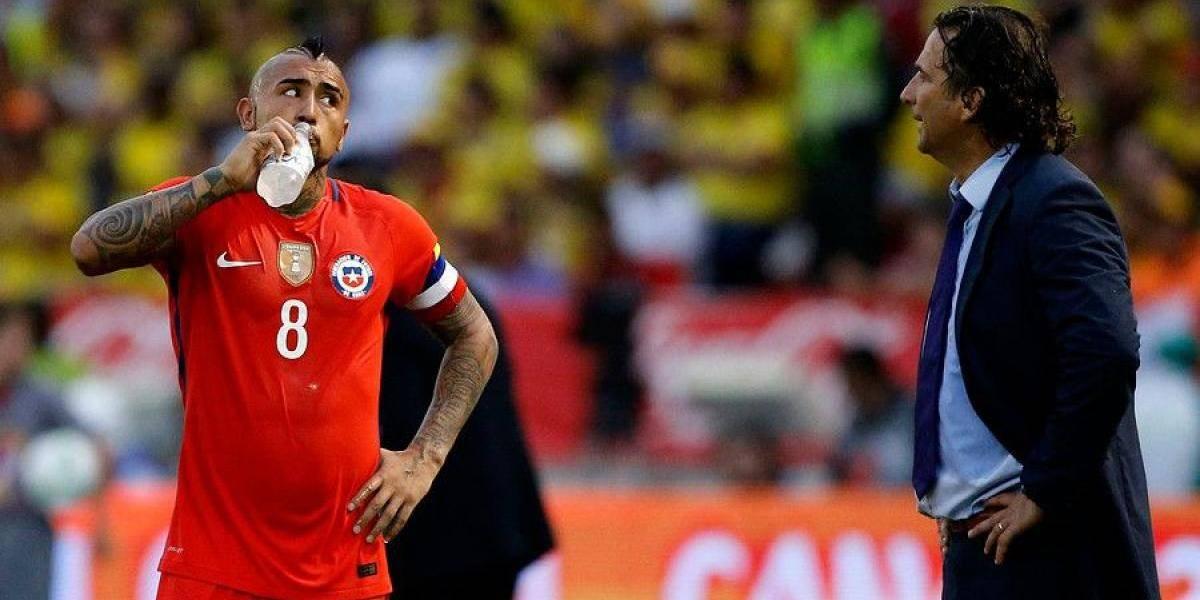 """Arturo Vidal: """"Los viajes son agotadores, pero definitivamente queremos jugar la Confederaciones"""""""