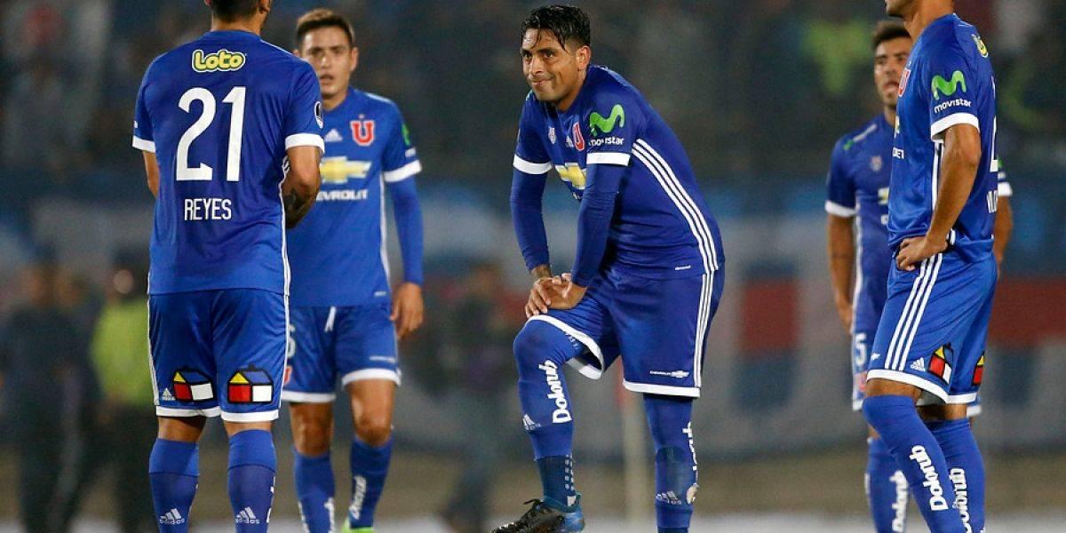 La U sucumbió ante el poderío de Corinthians y dijo adiós en la Sudamericana