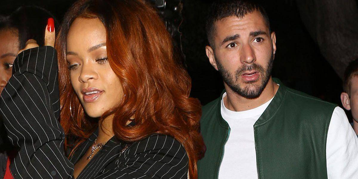 """Rihanna y Karim Benzema; ella le habría """"roto"""" el corazón al francés"""