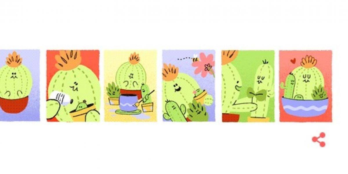 Google festeja a las mamás mexicanas con un Doodle muy especial