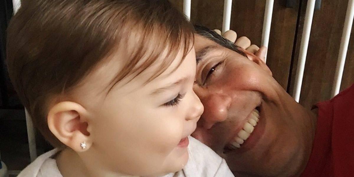 Hija de Jorge Castro le dice papá