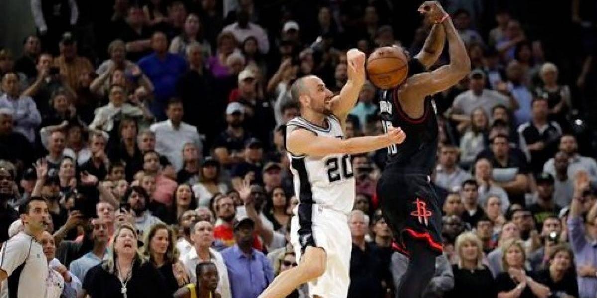 Spurs toman ventaja sobre los Rockets de Houston