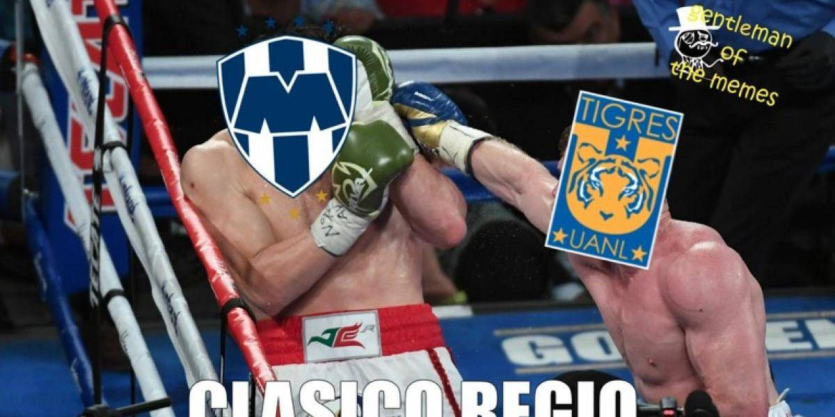 Los memes de la goleada de Tigres sobre Monterrey