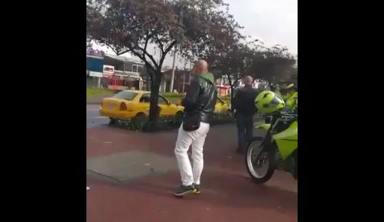 Taxistas pidieron un Uber para que la Policía los multara, pero los multados fueron ellos
