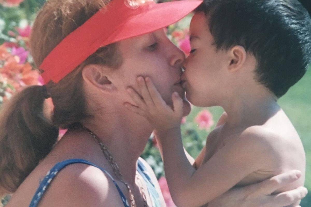 """""""Mi mamá siempre ha sido una excelente madre y muy amorosa. La amo con todo mi ser"""", Mario Bautista Cortesía"""
