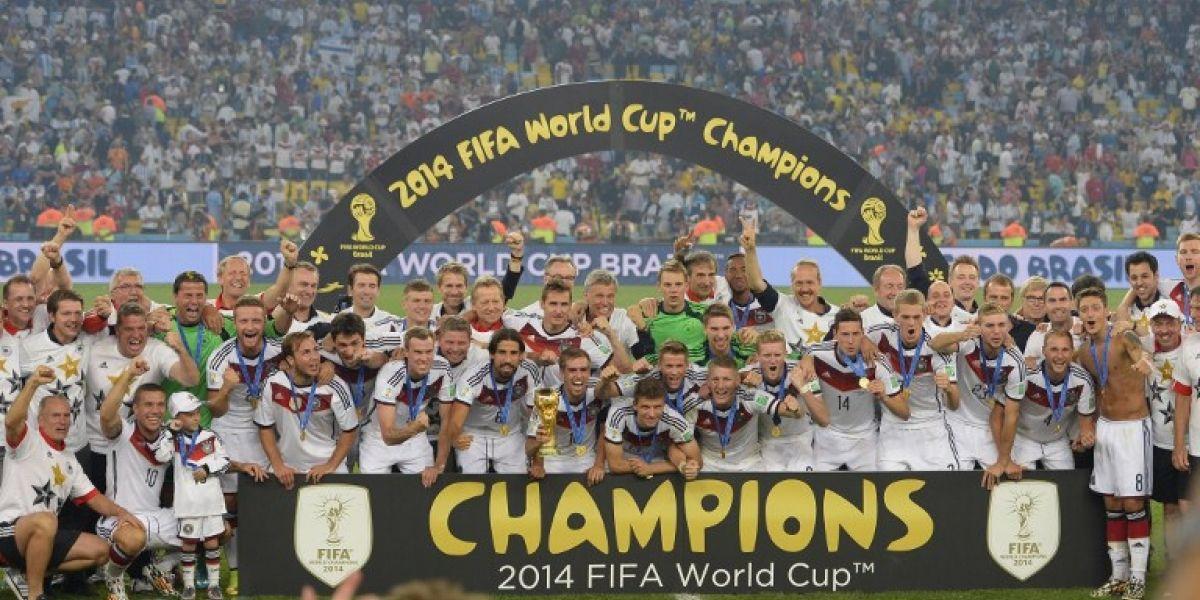 Una vergüenza: 12 dirigentes de la FIFA no sabían que Alemania es campeón del mundo