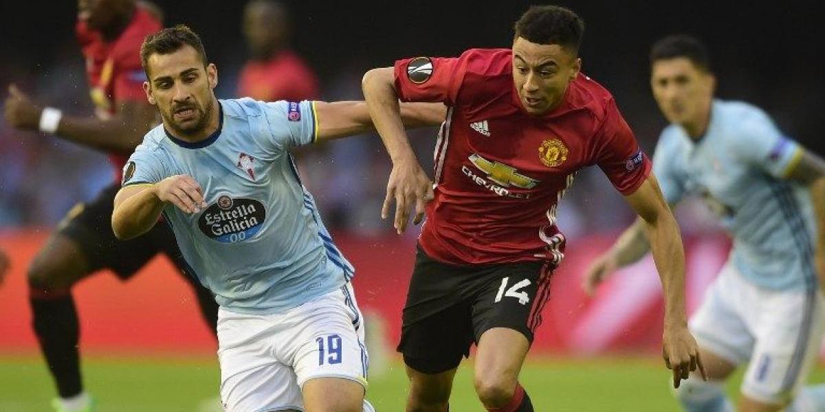 En directo: El Celta de los chilenos va por la hazaña ante el Manchester United