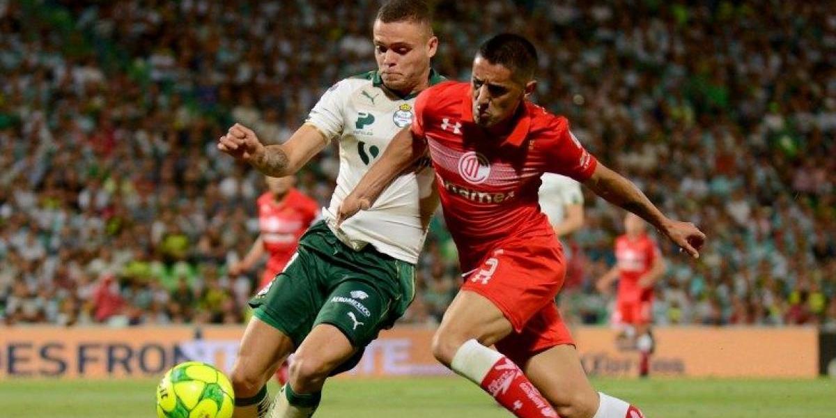 El Toluca de Osvaldo González queda a un paso de las semis en México tras contundente goleada a domicilio