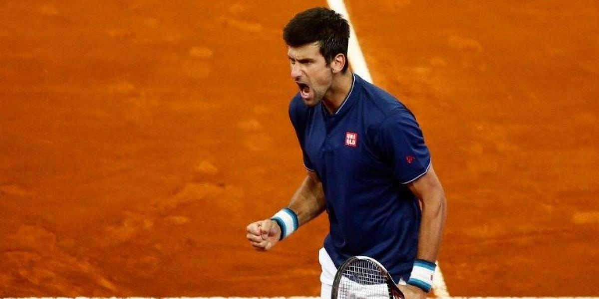 Djokovic recuperó su forma y se medirá con Nishikori en cuartos de Madrid