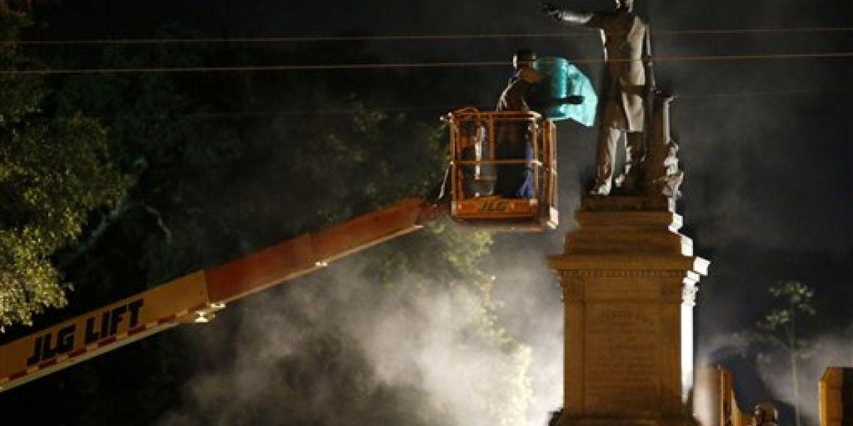 Nueva Orleans retira segundo monumento esclavista