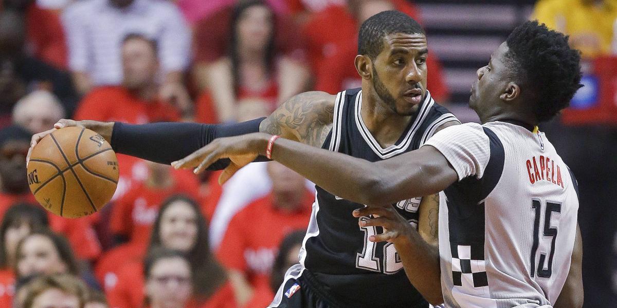 Spurs sacaron de la cancha a los Rockets y pasan a la final del oeste