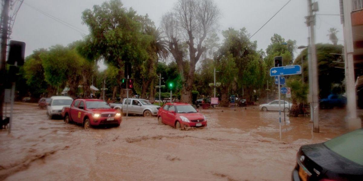 No sólo afecta a Coquimbo: sistema frontal deja 1.850 personas aisladas en la Región de Atacama