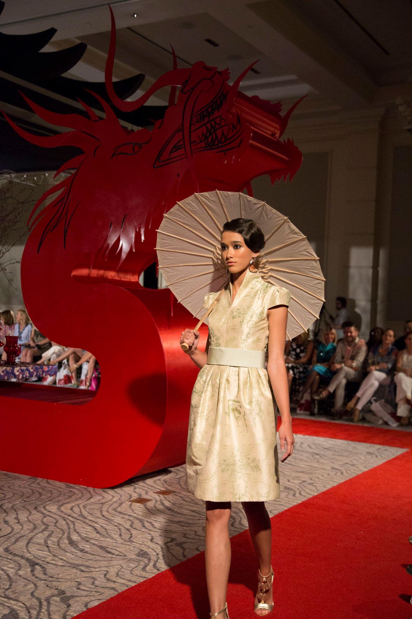 Colección Deco, otoño-invierno 2017, del diseñador Harry Robles. / Facebook: San Juan Moda